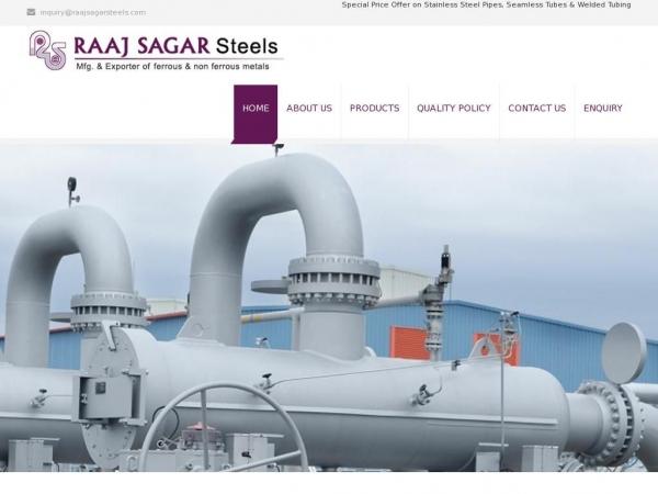 raajsagarsteels.com