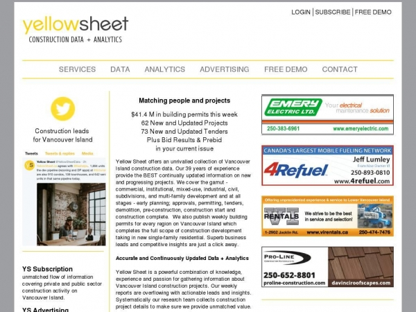 yellowsheet.ca