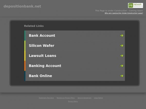 depositionbank.net
