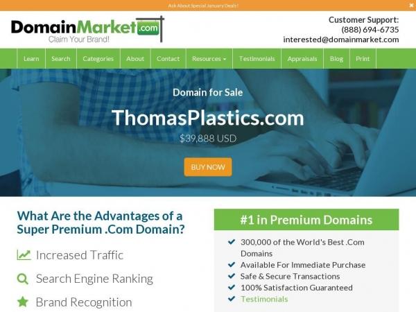 thomasplastics.com