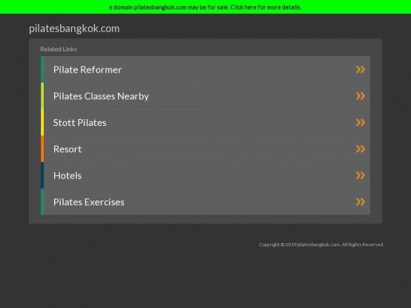 pilatesbangkok.com