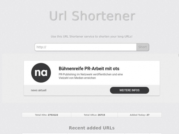 short.php5developer.com