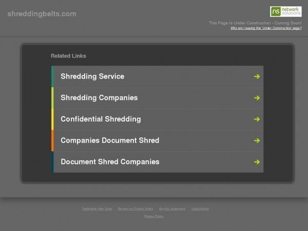 shreddingbelts.com